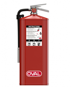 Oval Fire Extinguisher for healthcare facilities